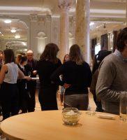 Sociologen in gesprek op de VVS Nieuwjaarsreceptie in De Markten in Brussel