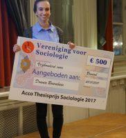 Dounia Bourabain is de winnaar van de Thesisprijs 2017